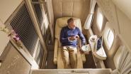 Zo oogverblindend is vernieuwde Boeing 777 van Emirates. En Brussels Airport krijgt de primeur
