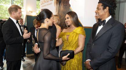 Beyoncé en Jay-Z breken protocol tijdens ontmoeting met Meghan Markle