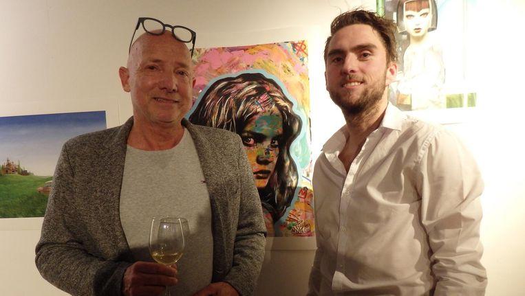 Jan van Dreumel en Erik van den Berg van Mr. Wallski. 'Een stukje storytelling is cruciaal.' Beeld Hans van der Beek