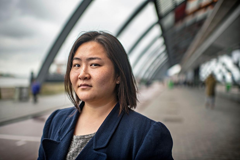 De Koreaanse Jiye Seong-Yu hield een online-enquête onder in Nederland wonende mensen met een Aziatisch uiterlijk over beledigingen naar aanleiding van het coronavirus. 'Het wordt steeds erger.' Beeld null