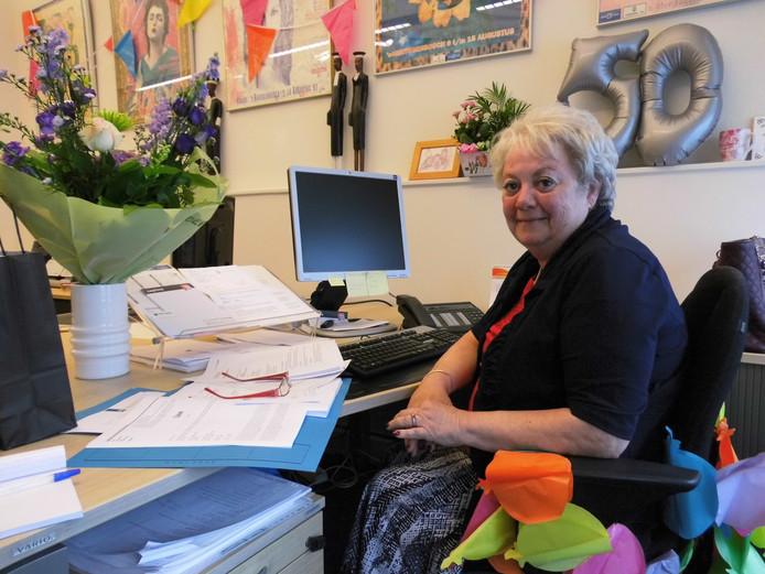 Christel Vos werkt inmiddels al 50 jaar bij hetzelfde advocatenbureau.