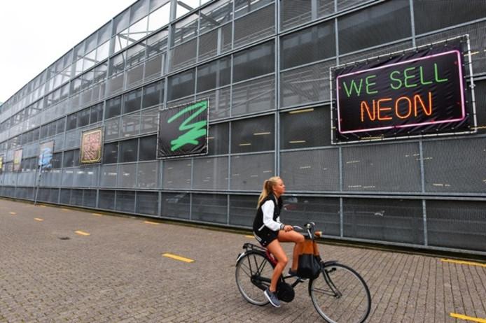 Kunst van Tivolistraat. Foto Marie Thérèse Kierkels