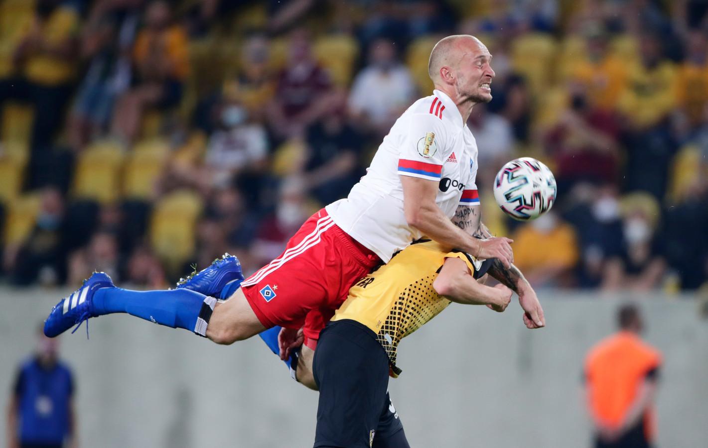 Toni Leistner verloor met HSV met 4-1 van Dynamo Dresden.