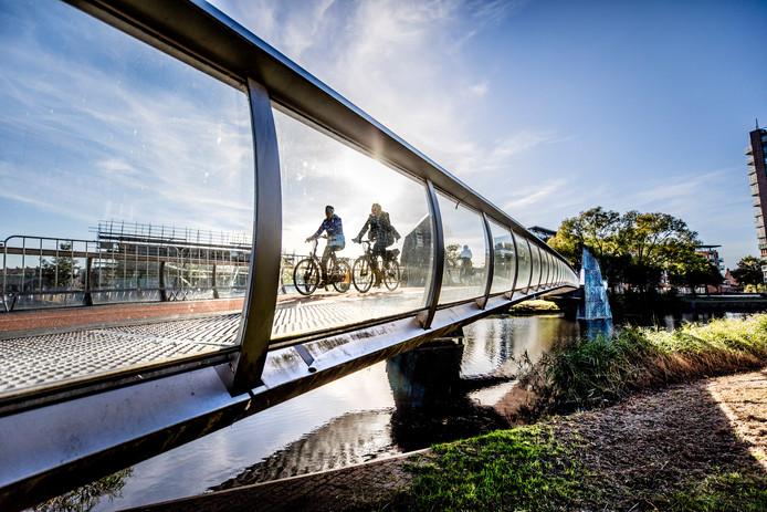'De Freule', brug over het Apeldoorns Kanaal.