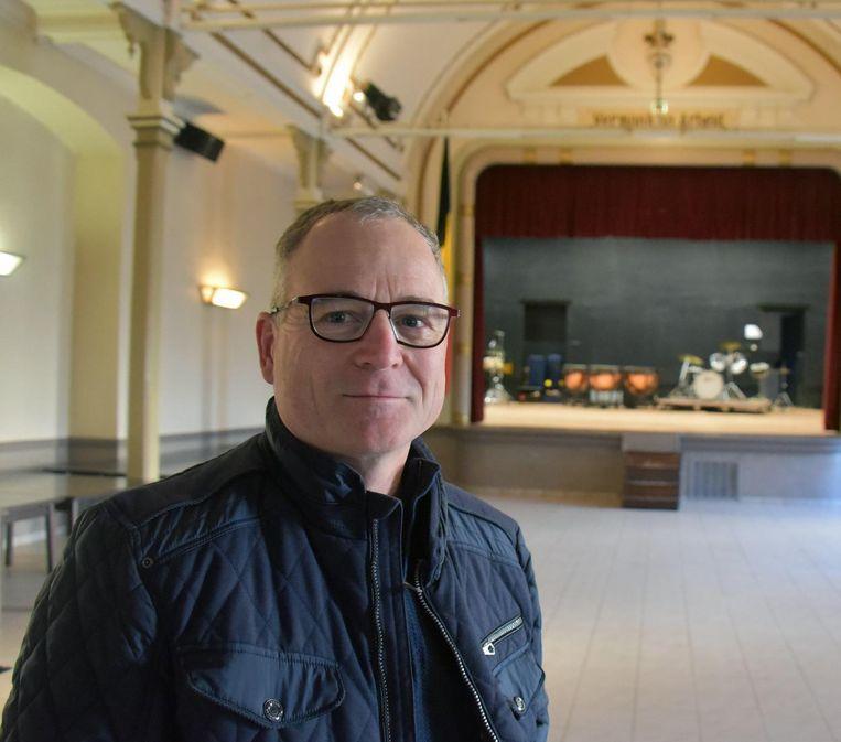 Bart Noyen, voorzitter van de vzw Kunstvrienden.