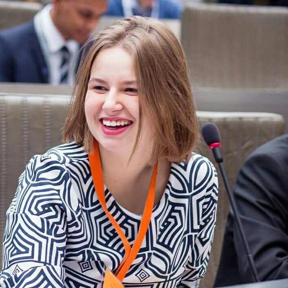 Laura Schurmans is kandidate voor het parlement.