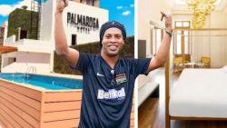 Huisarrest lijkt eerder luxe-vakantie: Ronaldinho vertoeft in viersterrenhotel met cocktailbar en rooftopzwembad
