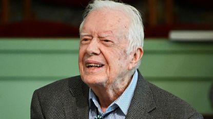 Amerikaanse oud-president Carter (95) uit ziekenhuis ontslagen