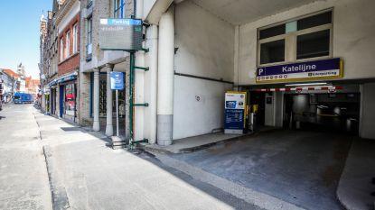 Twee uur gratis parkeren onder Katelijnestraat tijdens wegenwerken