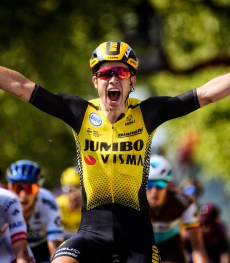 Op de weg was de etappe voor Wout van Aert, in het Tourspel voor Judy Hendriks uit Oosterhout