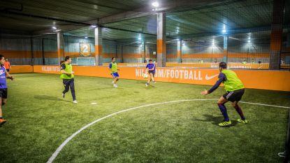 Vanaf maandag opnieuw indoor voetballen in Dok Noord