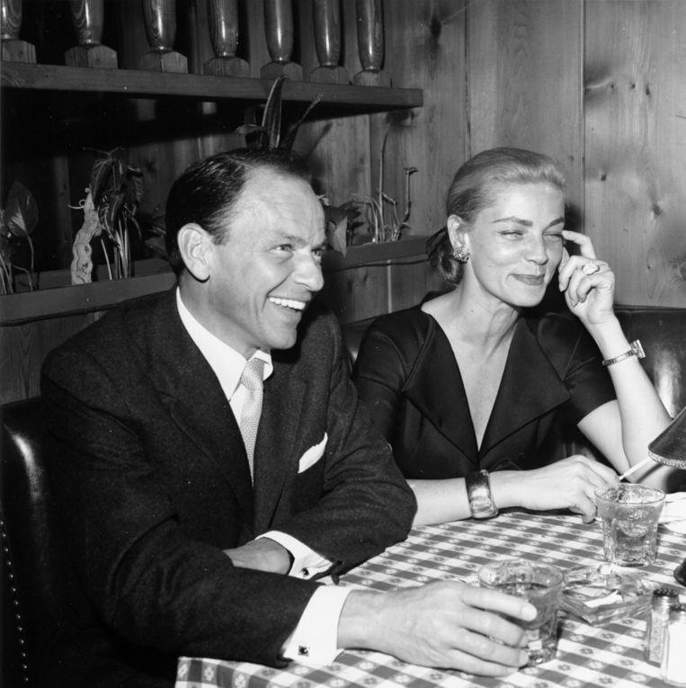 1957, met Frank Sinatra. Beeld Michael Ochs Archives