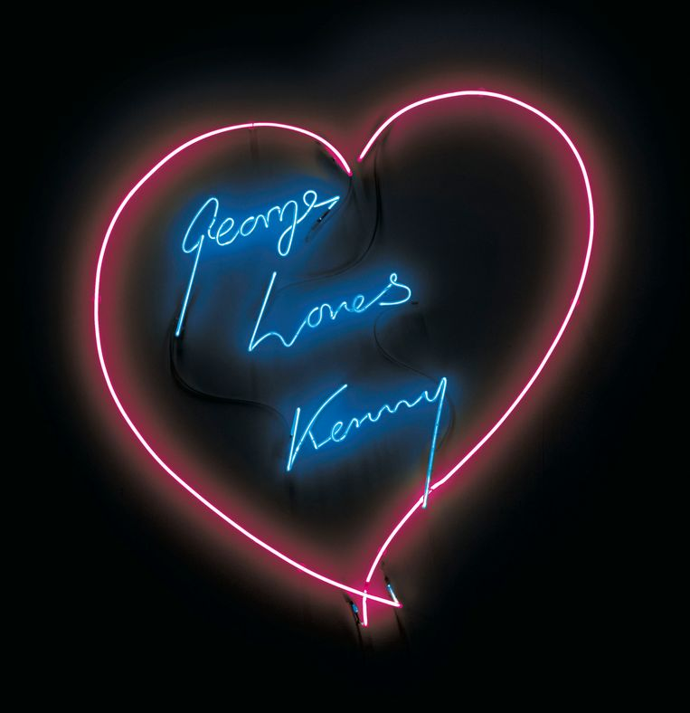 George Loves Kenny, Tracey Emin, 2007. Beeld Tracey Emin