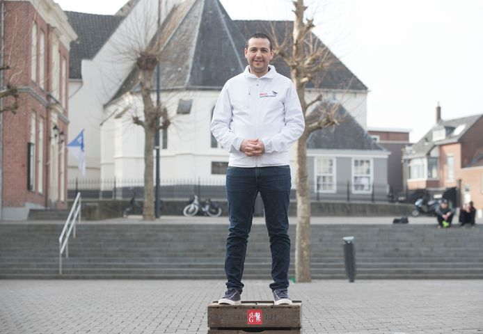 Said El Hassnaoui oftewel WestSaid in Veenendaal