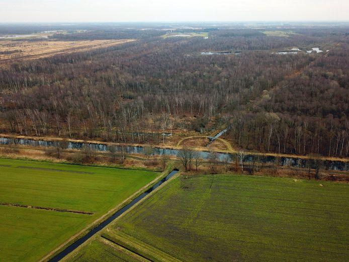 Het Leegveld in het buitengebied van Deurne.