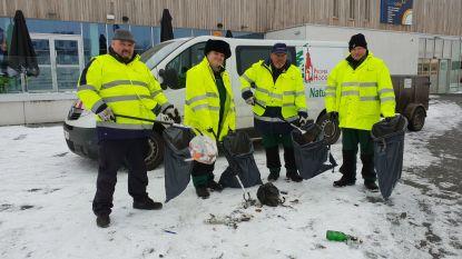 Team Proper Hoogstraten pakt zwerfvuil en sluikstort aan