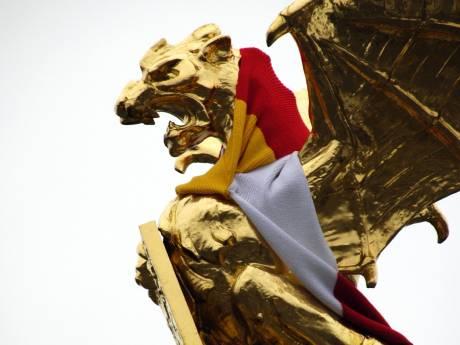 Na carnaval gaat de Bossche Draak van zijn sokkel