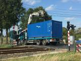 Treinverkeer tussen Tilburg en Den Bosch weer hervat, vrachtwagen bleef haken achter bovenleiding