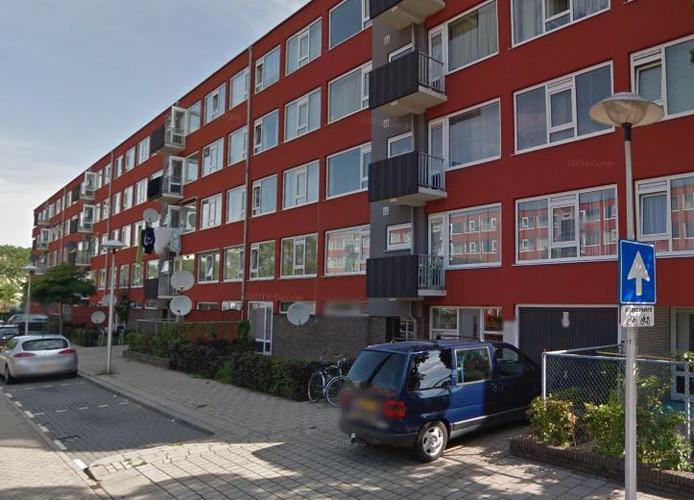 De Gasperilaan in Utrecht, waar het ten onrechte uit huis gezette echtpaar woont.