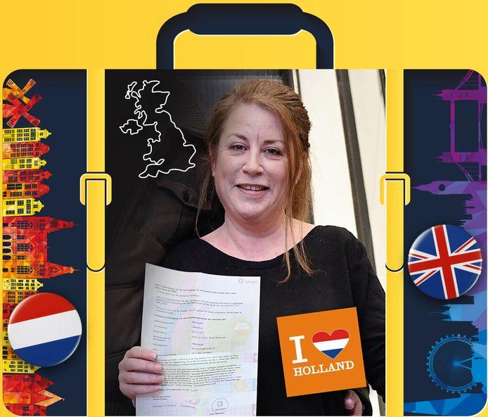 Josey McDonald (48) is Nederlandse geworden.