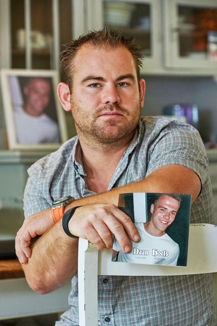 Thijs Hoefs, broer van de vorig jaar vermoorde Daan Hoefs uit Erp. Fotograaf: Van Assendelft/Jeroen Appels