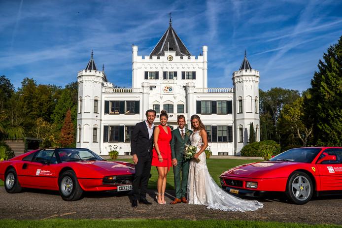 Na een 'rommelige nacht' zonder veel slaap was het vrijdag echt zo ver: de bruiloft die Qmusic-dj's Marieke Elsinga en Mattie Valk in een week tijd organiseerden