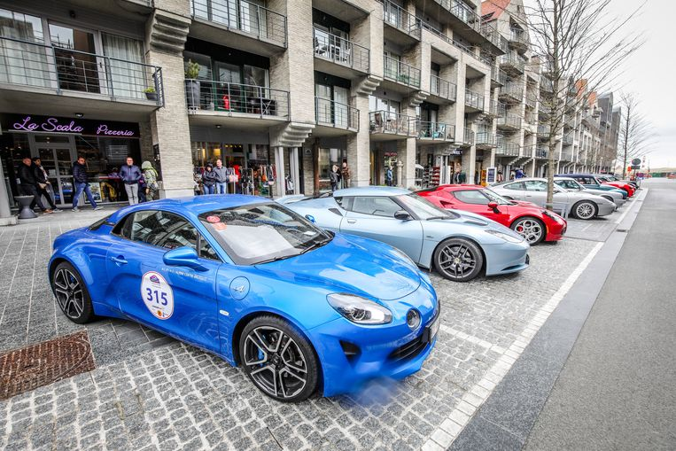 Nieuwpoort drivers days: Renault Alpine