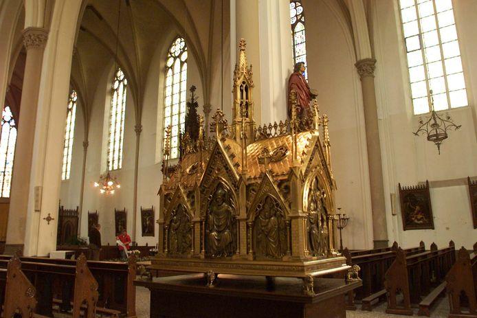 In de Broederenkerk in Deventer behoort tot de Heilige Lebuinus parochie en kreeg ook een brief vanwege het coronavirus.