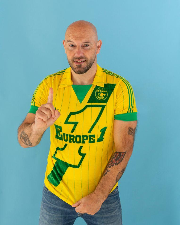 NANTES-  Het eerste shirt ooit gekocht door Jesse Beeld null