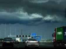 Code geel: noodweer met hagelstenen van 4 centimeter verwacht voor Brabant