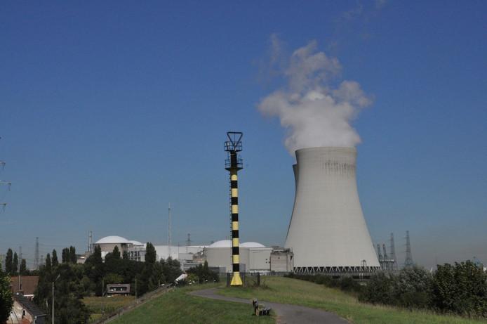 De kerncentrale in Doel.