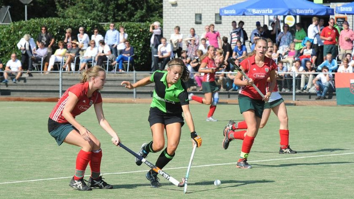 Archieffoto Boxmeerse hockeysters