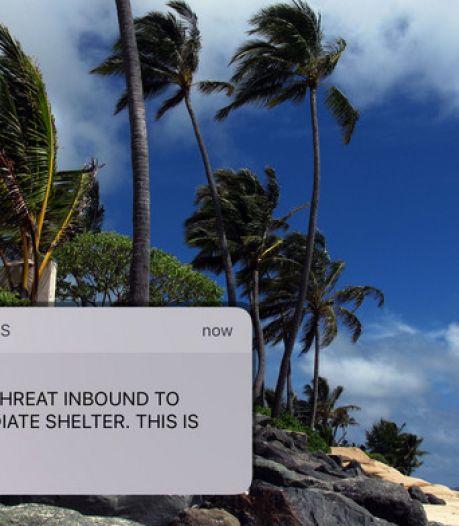 Dit is waarom zo'n foute waarschuwing als op Hawaii hier niet kan voorkomen