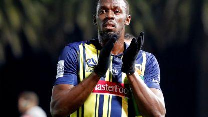 Dan toch geen contract: te dure Usain Bolt vertrekt per direct bij Australische club