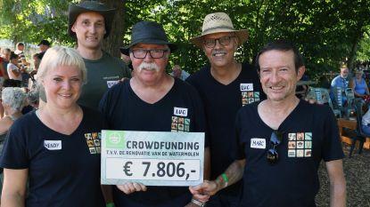 Cheque van 7.806 euro voor watermolen