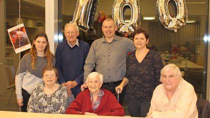 Maria Verleysen uit Hekelgem viert haar honderdste verjaardag
