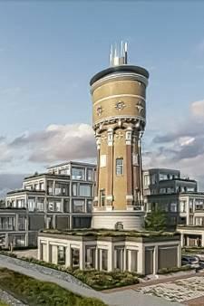 Felle kritiek op plan voor flat rond watertoren in Zwijndrecht: 'Toren wordt totaal verpest'