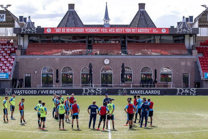 Training van Sparta Rotterdam.