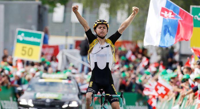 Antwan Tolhoek zag zijn ploeg op woensdag twee keer winnen, terwijl hij zelf een verdienstelijke elfde plek noteerde in Gran Piemonte.