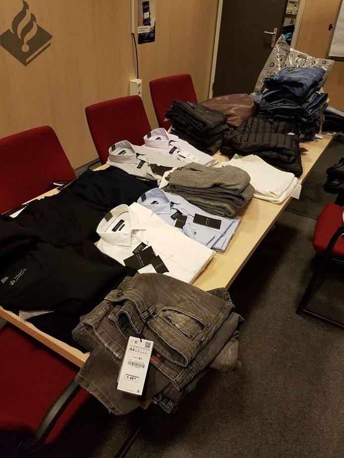 De gestolen kleding