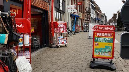 Nieuw streng reglement voor reclameborden op voetpaden