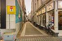 In enkele straten in de Bossche binnenstad begon zaterdag een proef met eenrichtingsverkeer.