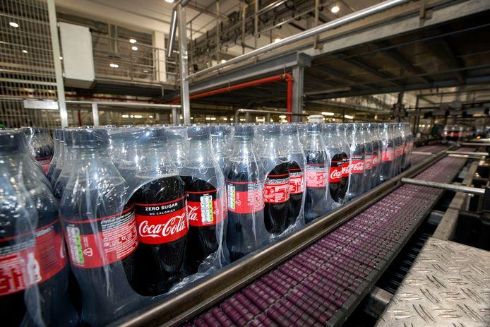 Coca Cola Fabriek in Dongen. Komend weekend  zijn er open dagen in het bedrijf. Foto: Pix4Profs/Joyce van Belkom