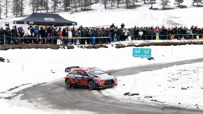 Thierry Neuville pakt de leiding in Monte-Carlo