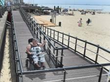 Na 30 jaar kan Heleen Matthijsse weer op het Badstrand in Vlissingen