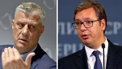 """Europa beducht voor grenswijziging tussen Servië en Kosovo: """"Niet de weg die we willen"""""""