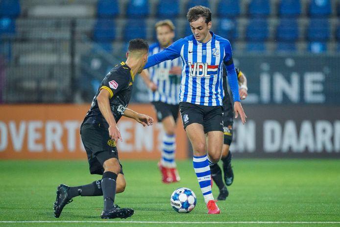 29-09-2020: Voetbal: FC Eindhoven v Roda JC: Eindhoven Kaj de Rooij of FC Eindhoven