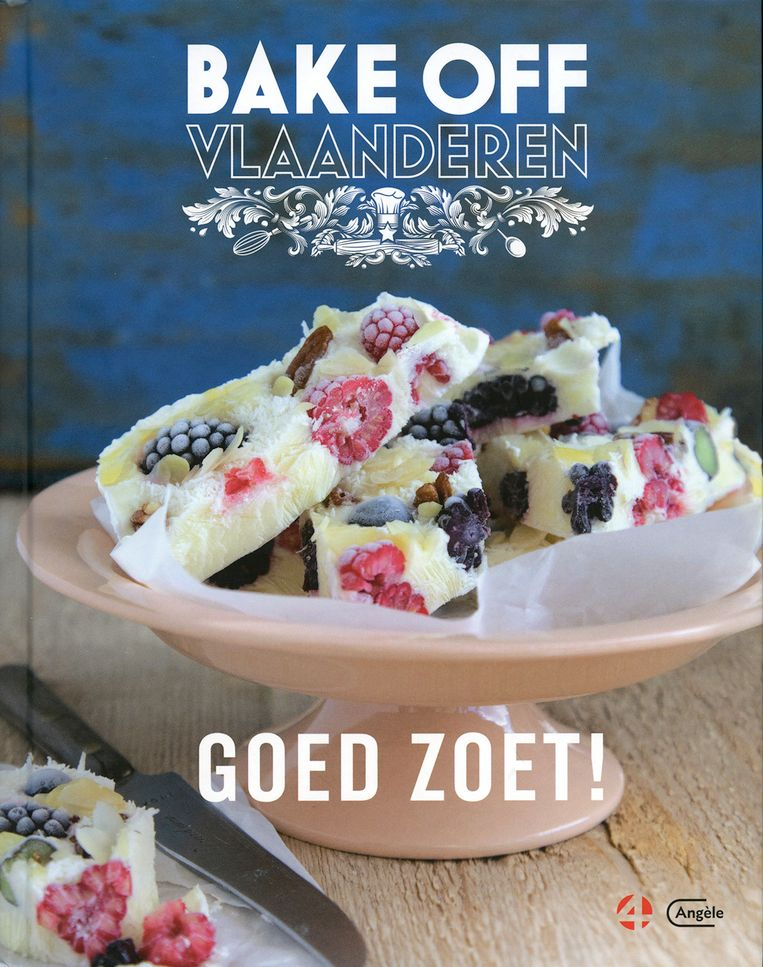 lnfo: Sieglinde Michiel, 'Bake Off Vlaanderen', Manteau,  € 24,99.
