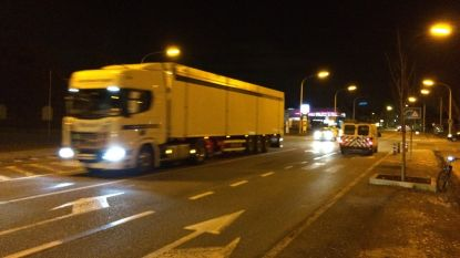 Nachtelijk transport voor Oosterweel