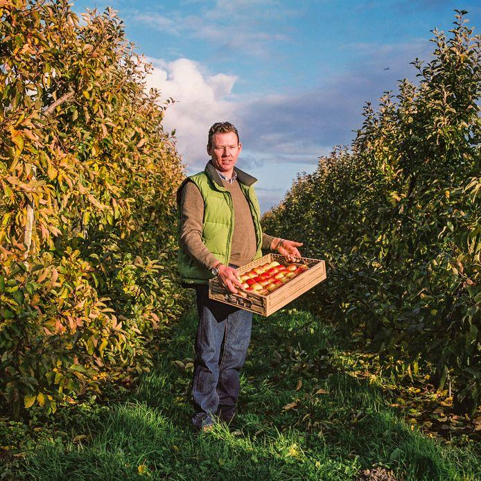 Per jaar levert boer Erik een miljoen kilo fruit.